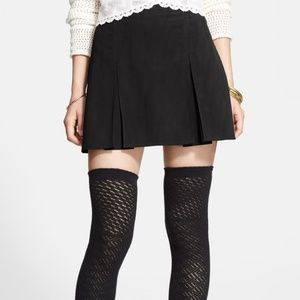 Free People 'Hard Days Night' Pleated Skirt